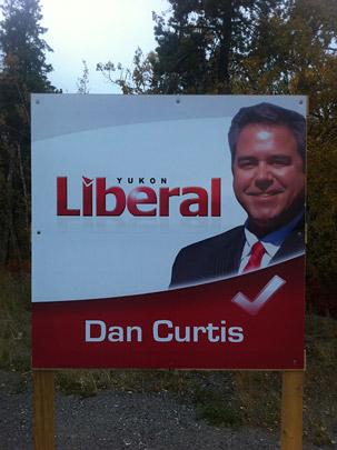 Riverdale Liberal candidate Dan Curtis